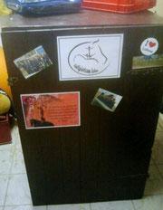 Der Schrank ist bepackt... ;-)