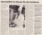 22.07.2009 Oberhessische Presse - Präsident Horst Wetterau ist tot.