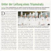 Unter der Leitung eines Triumvirats  Andreas Buß, Michael Faulhaber und Philipp Starker sind gleichberechtigte Vorsitzende der Marburger Köche