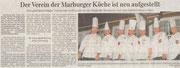 24.04.2010  Der Verein der Marburger Köche ist neu aufgestellt