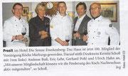 Hotel Die Sonne Frankenberg 100. Vereinsmitglied