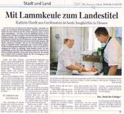 24.04.2010  Mit Lammkeule zum Landestitel