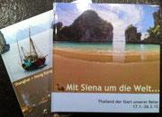 Die ersten Fotobücher unserer Weltreise