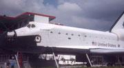 """Space Shuttle """"Explorer"""". Zu besichtigen im """"KSC"""""""
