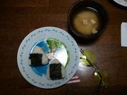 朝はやっぱりご飯とお味噌汁