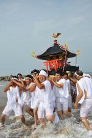 八重垣神社夏まつり(お天王さんまつり)写真提供:山元町