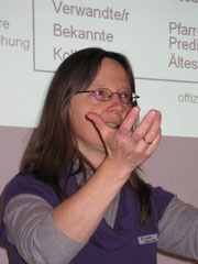 Pfarrerin Monika Riwar