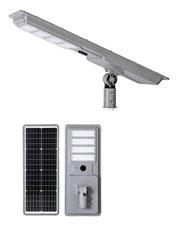 Luminario Solar All In One todo en uno de 80watts