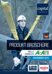 Capital Safety Messe Broschuere