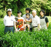 お茶農家4世代