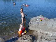 Badespaß in der Nähe - Moorbad und Silbersee