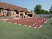 Gîte Le Plouy Somme terrain de tennis