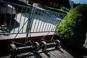 der berühmt-berüchtigte Bootswagen