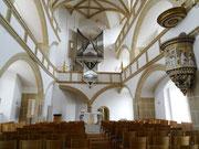 Torgau Schloßkapelle von innen