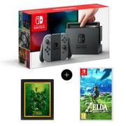 Nintendo Switch + Zelda + Cadre