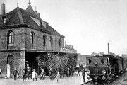 Bahnhof der Teutoburger-Wald-Eisenbahn um 1905