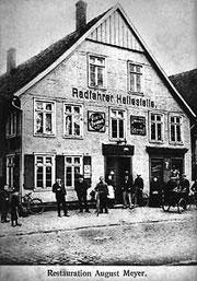 Vorläufer der Sprottendiele an der Blessenstätte um 1910