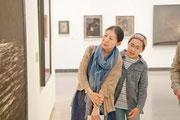 親子での参加もまた新しい発見が。@横浜美術館2013