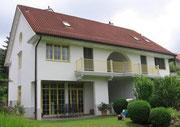 Fassadensanierung bei Algenbefall.