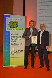 Preisverleihung Büro und Umwelt 2012