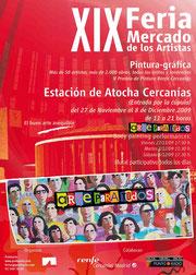 Amador Vallina participa en la XIX. Feria de los Artistas en Madrid