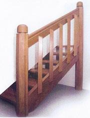 nos escaliers une gamme 100 sur mesure menuiserie henry frameries. Black Bedroom Furniture Sets. Home Design Ideas
