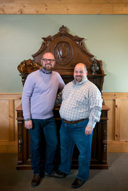 Photo of your hosts, Gary (left) and Jesse (right)