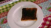 Toast, wenn Werbung daneben liegt