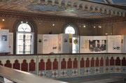 Ausstellung auf der Empore der Synagoge Hechingen, Foto: Manuel Werner
