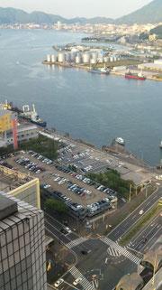 リーガ28階からの眺め