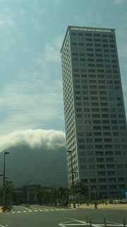 門司駅前の風景