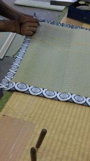 2畳台・上敷きの製作