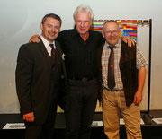 Rob van Ros, Gerry Artens, Manfred Brunner (vlnr)