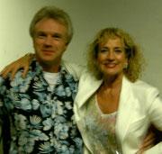 Gerry Artens mit Dagmar Koller