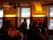 Live im ORF Kulturcafe