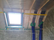 HRV Ducts lowering insulation values
