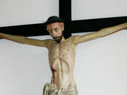 Das überlebensgroße Kruzifix