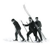 Skilauf-Pioniere
