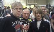 Tim Perkovic, Dennis Siver und Felix Weymann (v.l.)