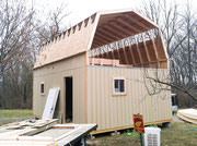 Large Barn Construction