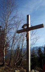 Buchberg Gipfelkreuz bei Attersee am Attersee