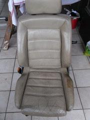 Autositz VW Golf - Glattleder - 26 Jahre alt