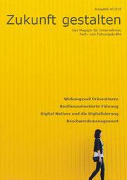 Titel von Zukunft gestalten 4/2015 zum, Download bei Neue Impulse, Stefan Betsch, Stuttgart