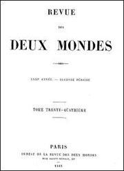 L'INSURRECTION CHINOISE, son origine et ses progrès . Revue des Deux Mondes, Paris. Tome 34, juillet-août 1861.