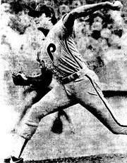 Steve Carlton set a record for strikeouts by a left-handed pitcher.