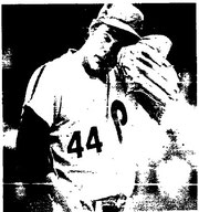 Dick Ruthven went seven hard innings to earn his third win.