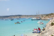Beautiful view of Comino