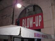 L'ingresso del circolo Blow Up
