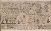 Nouvelle-France carte établie par Samuel de Champlain 1612