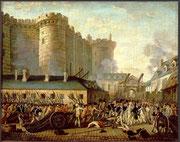 prise de la Bastille 14 Juillet 1789 anonyme - musée de Versailles